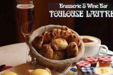 Brasserie Toulouse Lautrec - Champagne Brunch For Four - Save 50%
