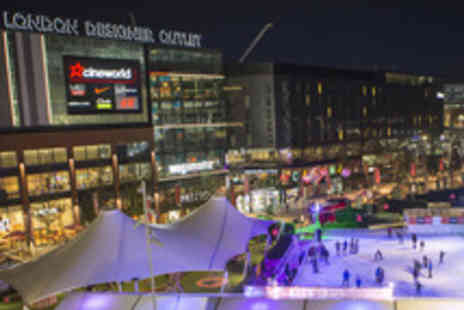 Ice Skating at Wembley Park - Ice Skating at Wembley Park with Hot Chocolate - Save 43%