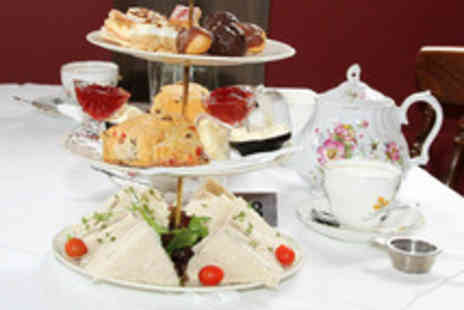 The Healey Dell Heritage Centre - Edible 23 Carat Gold Afternoon Tea for Two - Save 52%