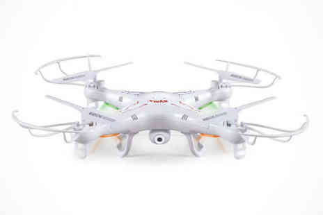 Quadcopter - Remote Controlled Quadcopter with HD Camera, Delivery Included - Save 55%