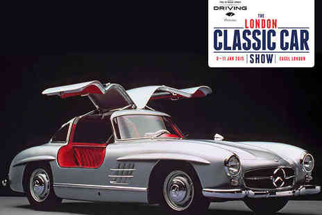 Brand Events - Ticket to The London Classic Car Show on January 9, 10 or 11 - Save 0%