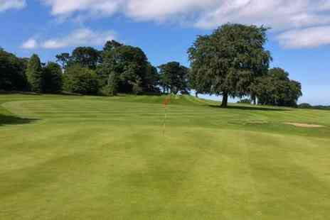 Alnwick Golf Club - Full Day at Alnwick Castle Golf Club For Two  - Save 73%