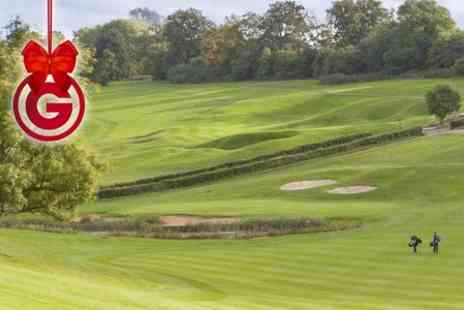 Surrey National Golf Club -  Day of Golf For Two Plus Driving Range Balls - Save 71%