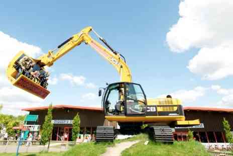 Diggerland Yorkshire - Diggerland Entry For Family of Four  - Save 37%