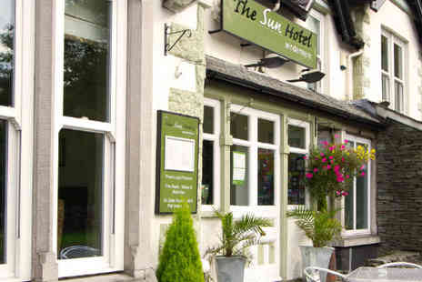 The Sun Hotel - Wonderful stay in Windermere for two with wine - Save 54%