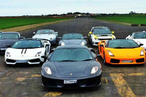 Supercars Scotland - The drive of your life with Supercars - Save 50%