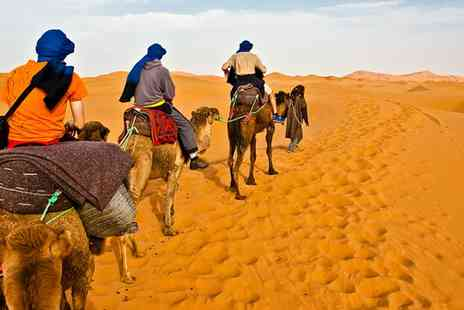 Morocco Tour with Flights - Four night tour including the Atlas Mountains, glamping in the Sahara Desert and more  - Save 35%