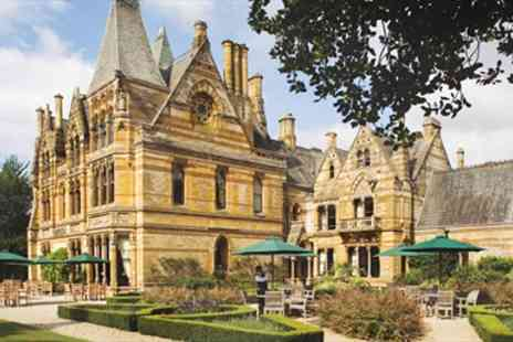 Ettington Park Hotel - Overnight in Warwickshire Romantic Gothic Mansion Break with Fizz - Save 36%