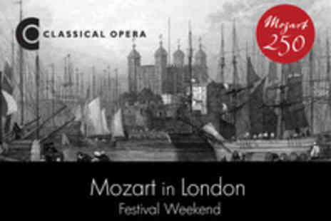 Classical Opera - Enjoy a Selection of Shows Dedicated to The Genius of Mozart  - Save 17%