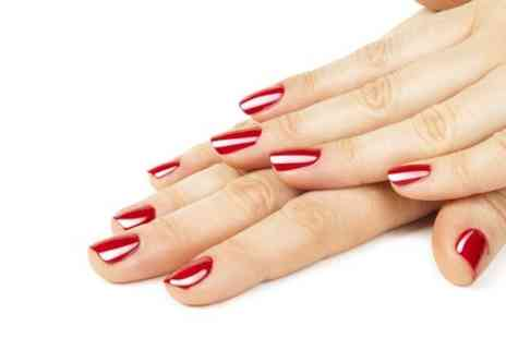 RW Nails - Luxury Shellac Manicure Plus Nail Art or French Polish - Save 52%