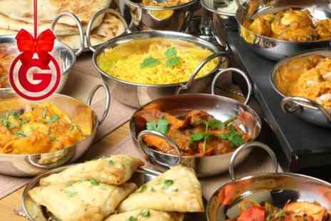 Le Spice Merchant - Three Course Indian Meal With Wine For Two  - Save 25%