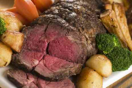 The Bowery - Traditional Sunday Roast  With Bottle of Wine - Save 0%