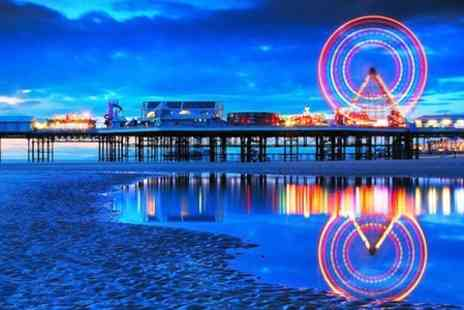 Queens Plaza Hotel - Blackpool Stay With Breakfast  Plus Dinner - Save 0%