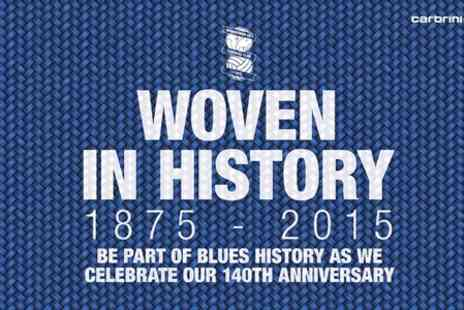 Birmingham City Football Club -  Woven in History Package  - Save 0%