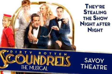 Encore Tickets - Ticket to Dirty Rotten Scoundrels Starring Robert Lindsay at the Savoy Theatre With Hotel Stay - Save 0%