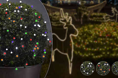 Ansell Garden Centre - 100 LED Timer String Lights - Save 33%