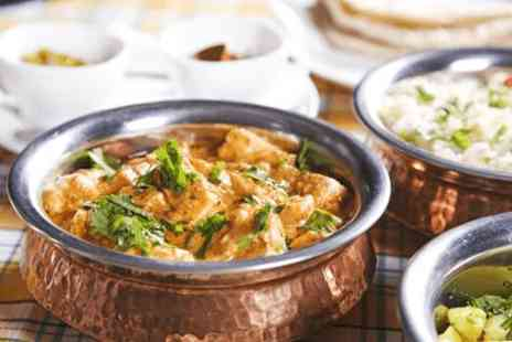 4500 Miles from Delhi - All you can eat lunchtime Indian buffet for four - Save 0%