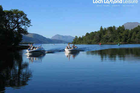 Loch Lomond Leisure - Speedboat Tour Across Loch Lomond for up to Seven People - Save 52%