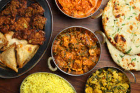 Green Chilli Cafe - Two Course Indian Tapas Meal with Sides - Save 48%
