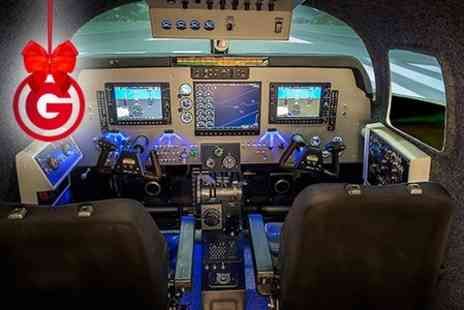 SoftekSim - Motion Flight Simulator Experience With Pro Pilot  - Save 51%