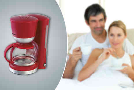 Hitari Trade - Swan Red Coffee Maker  - Save 33%