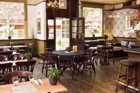 The New Inn - Three Course Meal & Wine for Two - Save 58%