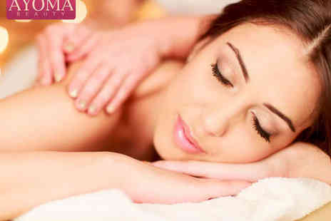 Ayoma Beauty - Hour Long Elemis Skin Specific Facial and 30 Minute Back Massage - Save 62%