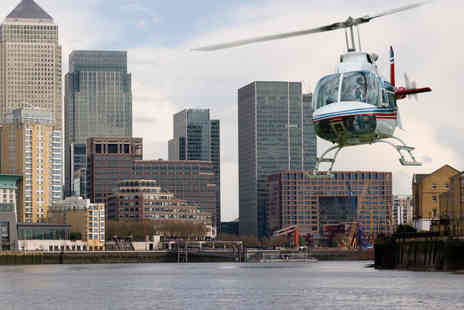 Experify - Sightseeing Helicopter Tour of with Chocolates and Champagne - Save 47%