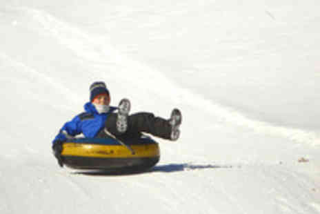 Swadlincote Ski Slope - Sno Tubing and Tobogganing For Two - Save 56%