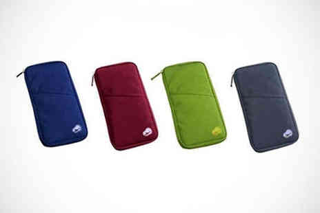 Gotvstore - Travel Wallet in Choice of Colour, Delivery Included - Save 81%
