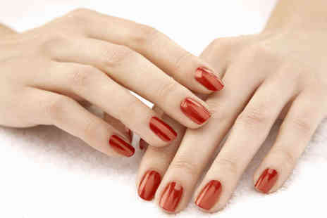 Pamper Me - Deluxe Spa Manicure, Including Hand Exfoliation and Shellac Polish - Save 51%