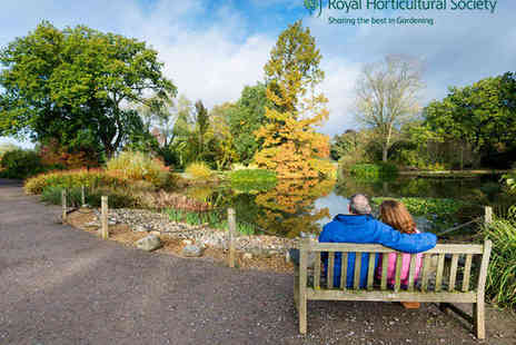 The Royal Horticultural Society - Annual RHS Gift membership - Save 19%