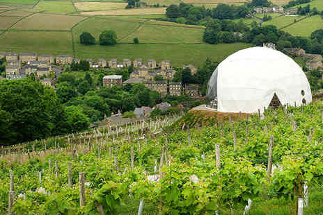 Holmfirth Vineyard - One Night Stay in a Luxury Apartment on a Vineyard; with Wine Tasting, Tour, Champagne on Arrival, and Three Course Meal  - Save 46%