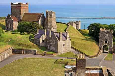 Luxury Travels and Tours - Luxury Leeds Castle Canterbury & Dover coach tour with Luxury Travels and Tours - Save 57%