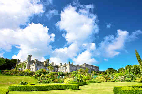 Tregenna Castle Resort - Idyllic St Ives Castle Getaway with Three Course Dinner - Save 60%