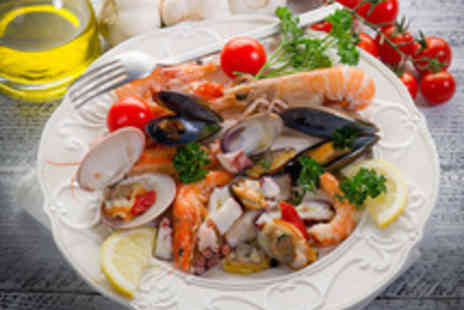 Locanda 311 - Seafood Sharing Platter with a Prosecco Cocktail Each for Two  - Save 49%