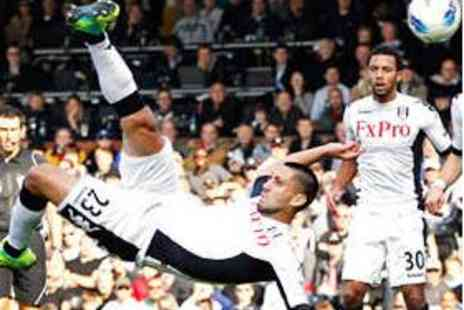 Fulham FC - Two Barclays Premier League Tickets - Save 50%