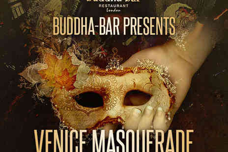 Buddha Bar - Venice Masquerade New Year's Eve Party with Four Course Meal, Cocktail, and Champagne - Save 20%