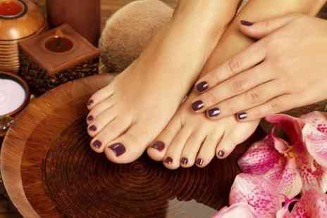 Truly Scrumptious - OPI Manicure or Pedicure - Save 52%