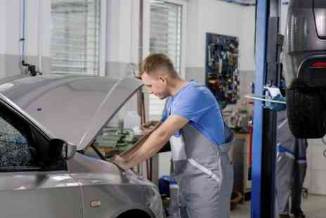 Car Plus Service Centre - MOT Test Plus 50 Point Service With Oil and Filter Change  - Save 69%
