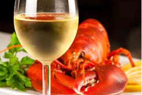 The Mariner Hotel - Lobster Lunch for Two with Bubbly - Save 52%