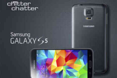 Chitter Chatter -  Samsung Galaxy S5 Smart Phone on a 4GEE 24 Month Contract with EE - Save 70%