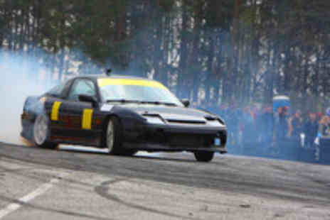 Learn To Drift Scotland - High Speed Drift Passenger or Driver Experience for One  - Save 71%