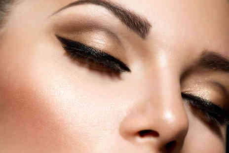 New Town Beauty Lounge - Eyebrow and Lash Tint with Eyebrow Shape and Wax or Dermalogica Facial with Back, Neck, and Shoulder Massage  - Save 55%