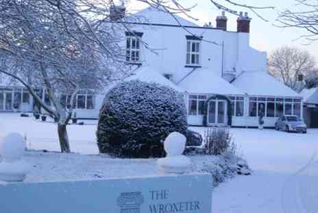 The Wroxeter Hotel - One Night stay With 16 Dish Roman Banquet - Save 45%