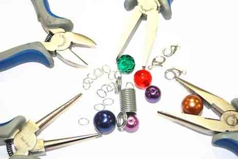 The Number 1 Bead Shop  - Jewellery Making Class  - Save 60%