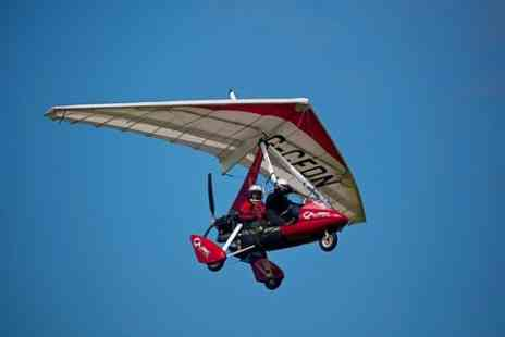 Microlight Flight lessons - One Hour Flying Experience - Save 34%