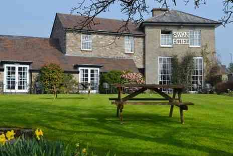 The Swan at Hay Hotel - One Night stayFor Two With Breakfast and Cream Tea  Plus Dinner  - Save 0%