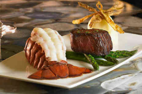 Relentless Steak & Lobster House  - Surf n Turf for two  - Save 38%
