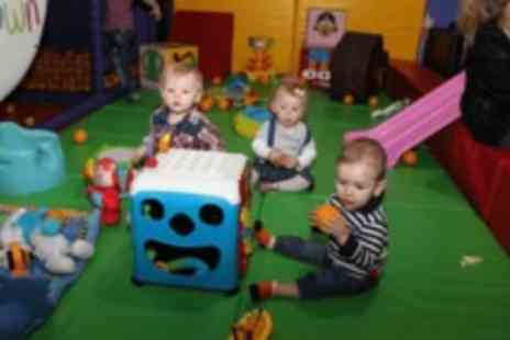 Tiny Town -  Soft play area entry, with lunch for two - Save 0%